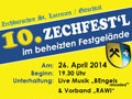 Einladung zum 10. Zechfest - © www.zechburschen.at