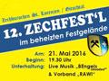 Einladung zum 12. Zechfest'l - © www.zechburschen.at