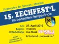 Einladung zum 15. Zechfest'l - © www.zechburschen.at